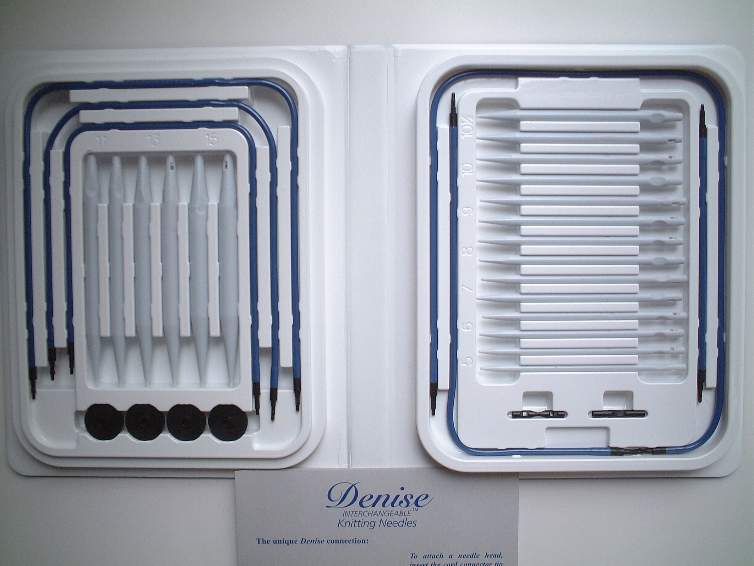 Denise interchangeable knitting needles, knitting supplies, Denise knitting needles, circular, interchangeable knitting needles