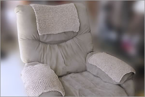 Armchair Armrest and Headrest Covers