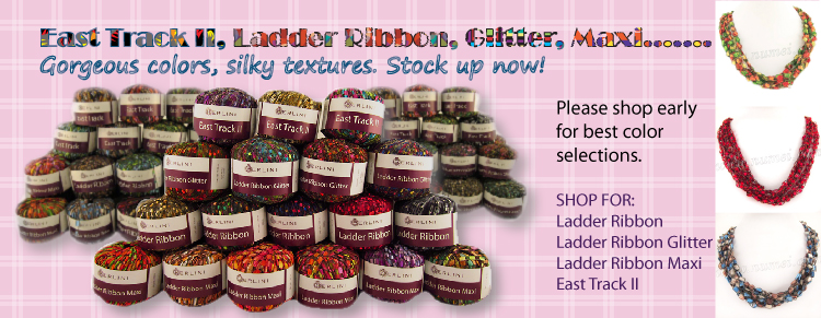Ladder Ribbon yarn