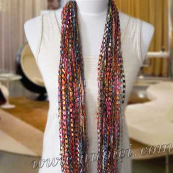 Specials: 'Ai' Ribbon Yarn Scarf: AI-2102