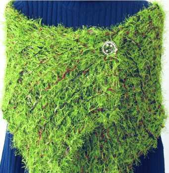 Handmade Scarf Lime Tots Scarf/Shawl