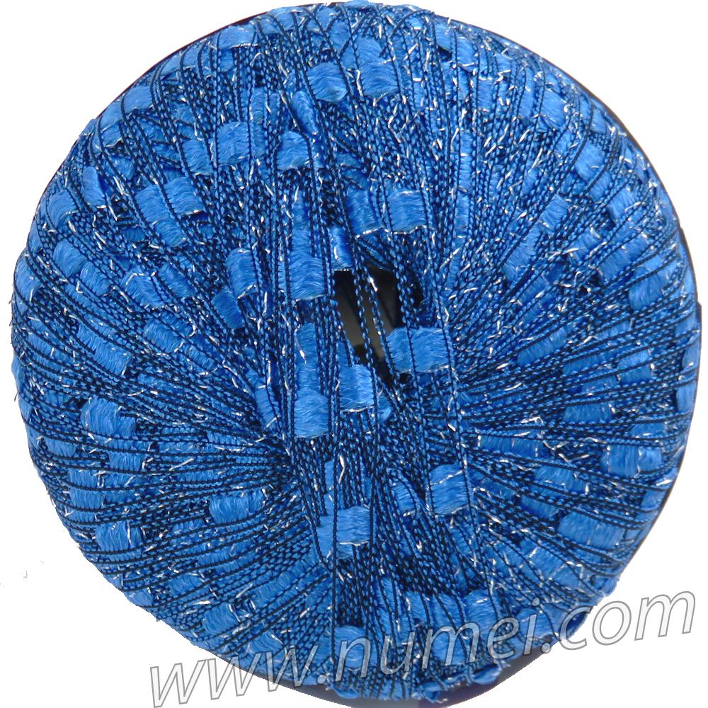 Berlini Ladder Ribbon Glitter 120 Brilliant Blue