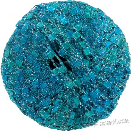 Berlini Ladder Ribbon Glitter 111 Turquoise