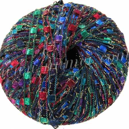 Berlini Ladder Ribbon Glitter 143 Tapestry - 50g Ball