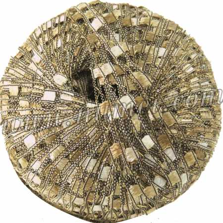 Berlini Ladder Ribbon Glitter 152 Sandstone - 50g Ball