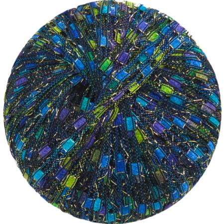 Berlini Ladder Ribbon Glitter 159 Neptune - 50g Ball