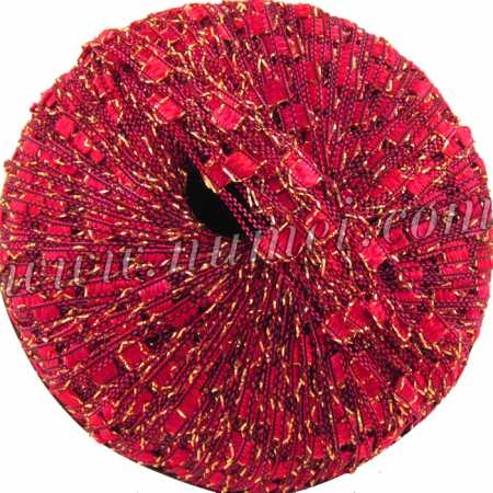 Berlini Ladder Ribbon Glitter 42 Bright Rose - 50g Ball