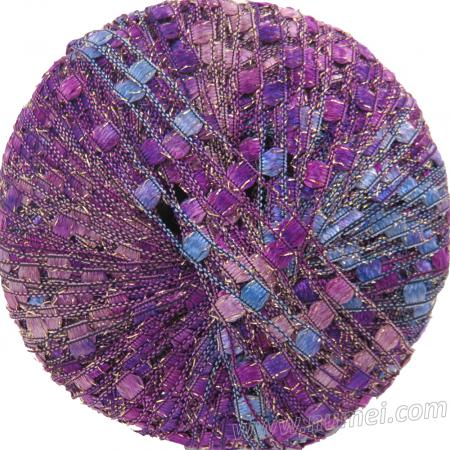 Berlini Ladder Ribbon Glitter 83 Purple Passion