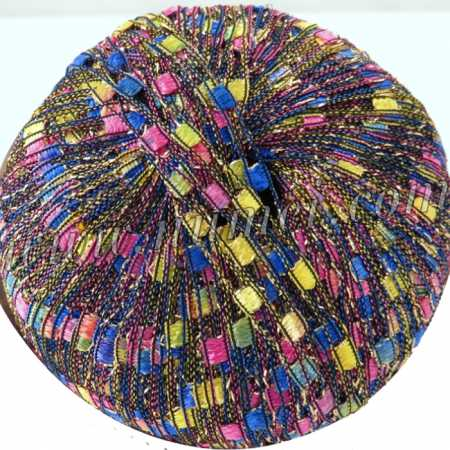 Berlini Ladder Ribbon Glitter 89 Blue Parade Lot 00 - 50g Ball