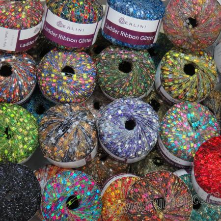 Berlini Ladder Ribbon Glitter SP1 Sampler Pack - 99 Balls