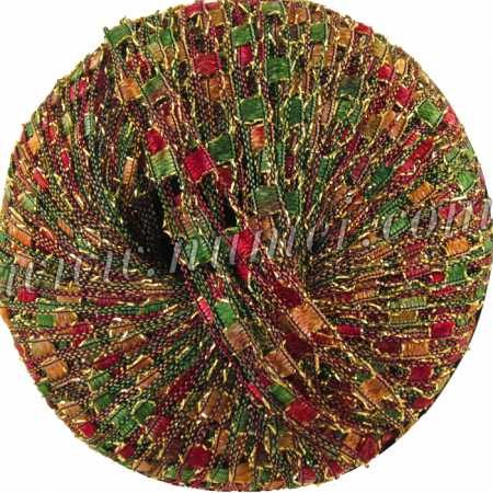 Berlini Ladder Ribbon Glitter 113 Fall Herbs - 50g Ball