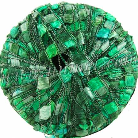 Berlini Ladder Ribbon Maxi 131 Green Tourmaline - 50g Ball