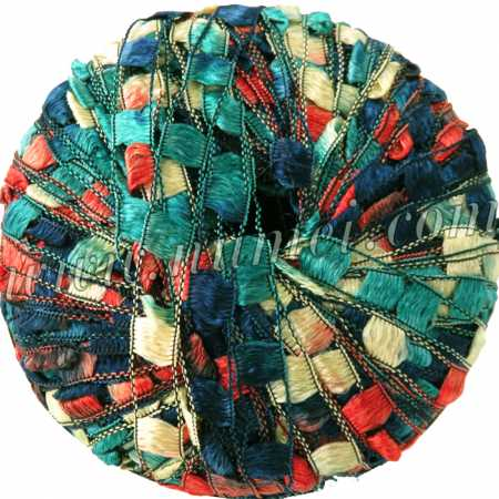 Berlini Ladder Ribbon Maxi 154 Mauna Loa - 50g Ball