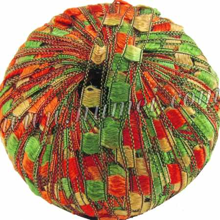 Berlini Ladder Ribbon Maxi 40 Autumn Leaves - 50g Ball
