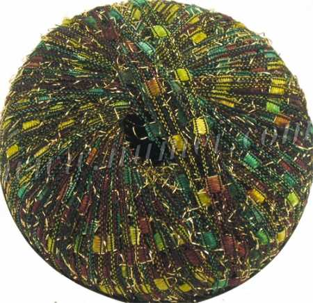Berlini Ladder Ribbon Glitter 106 Evergreen Lot 31 - 50g Ball