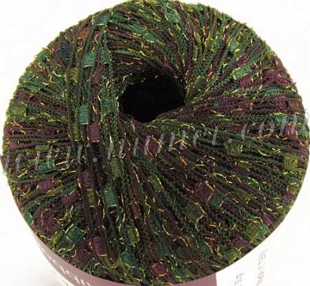 Berlini Ladder Ribbon Glitter 106 Evergreen Lot 180 - 50g Ball
