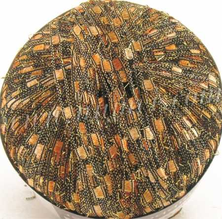 Berlini Ladder Ribbon Glitter 117 Butterum - 50g Ball