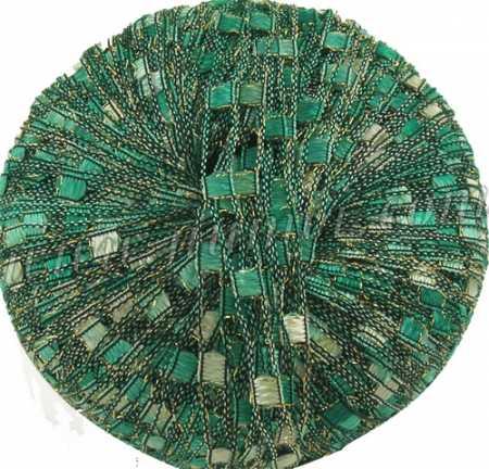 Berlini Ladder Ribbon Glitter 68 Emerald