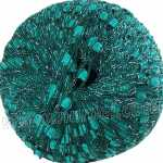 Berlini Ladder Ribbon Glitter 115 Rich Teal