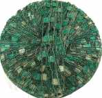 Berlini Ladder Ribbon Glitter 68 Emerald