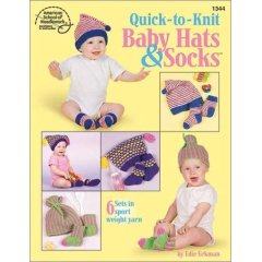 Books: Quick-to-Knit Baby Hats & Socks