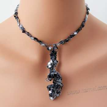 Crochet Pattern: Fashion Necklace CP-FN1
