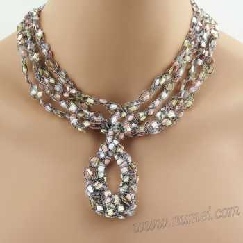 Crochet Pattern: Fashion Necklace CP-FN10