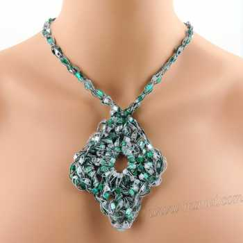 Crochet Pattern: Fashion Necklace CP-FN13