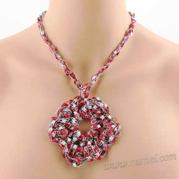 Crochet Pattern: Fashion Necklace CP-FN15