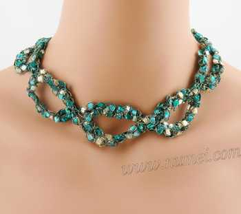 Crochet Pattern: Fashion Necklace CP-FN16