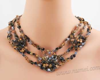 Crochet Pattern: Fashion Necklace CP-FN18