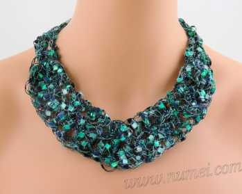 Crochet Pattern: Fashion Necklace CP-FN19