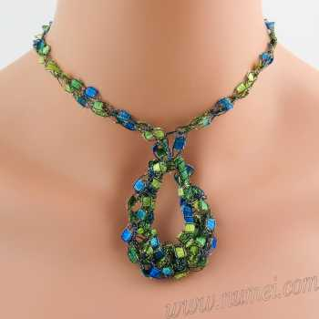Crochet Pattern: Fashion Necklace CP-FN2