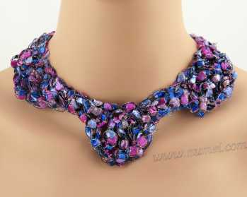 Crochet Pattern: Fashion Necklace CP-FN21