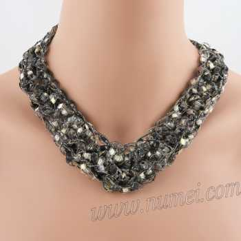 Crochet Pattern: Fashion Necklace CP-FN22