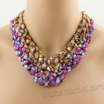 Crochet Pattern: Fashion Necklace CP-FN23
