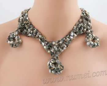 Crochet Pattern: Fashion Necklace CP-FN25