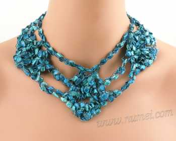 Crochet Pattern: Fashion Necklace CP-FN30