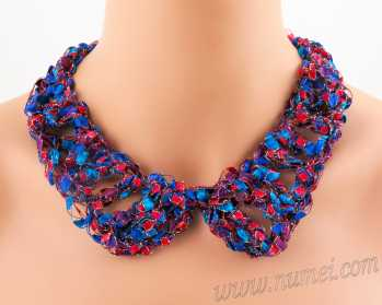 Crochet Pattern: Fashion Necklace CP-FN31
