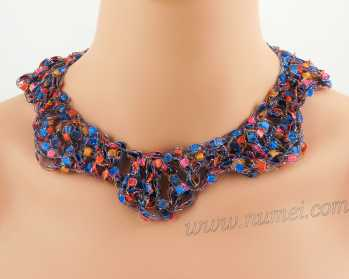 Crochet Pattern: Fashion Necklace CP-FN34