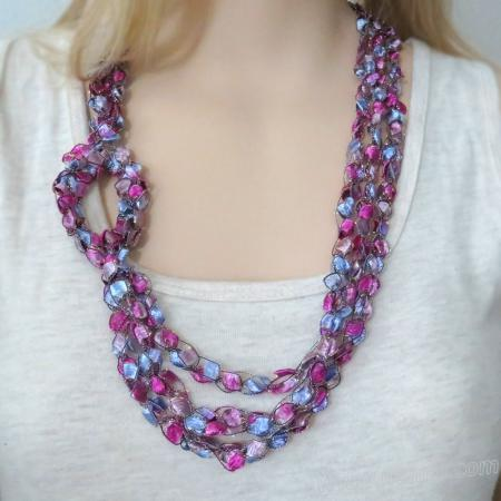 Crochet Pattern: Fashion Necklace CP-FN36