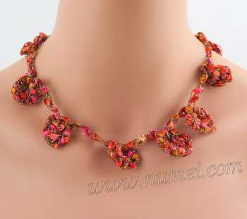 Crochet Pattern: Fashion Necklace CP-FN4