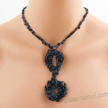 Crochet Pattern: Fashion Necklace CP-FN5