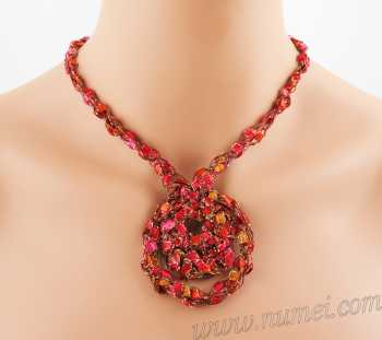 Crochet Pattern: Fashion Necklace CP-FN9