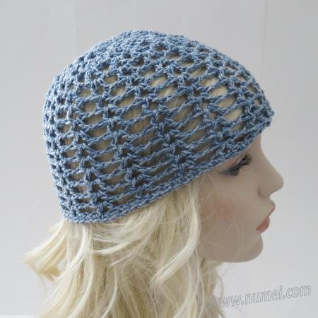 Crochet Pattern: Maggie Lacy Beanie