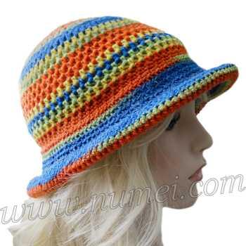 Crochet Pattern: Tijuana Brim Hat