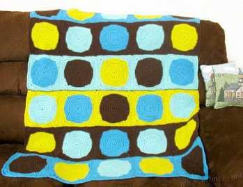 Crochet Pattern: Kris Modern Baby Blanket