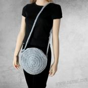Crochet / Knitting Pattern: Boca Round Crossbody Bag