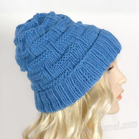 Knitting Pattern: Steps and Ladders Hat