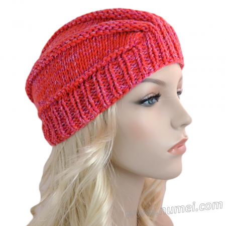 Knitting Pattern: Ribbed Wedge Turban (Chunky Yarn)